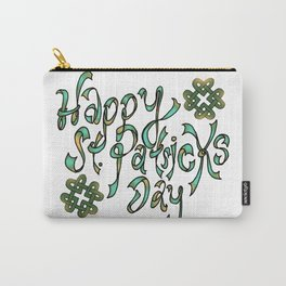 Happy St Patricks Day Carry-All Pouch