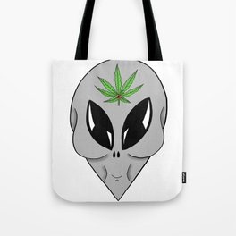 Third Eye Alien Tote Bag