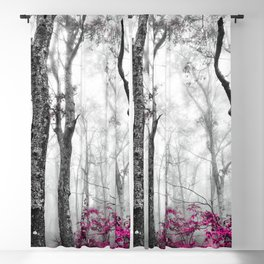 Princess Pink Forest Garden Blackout Curtain