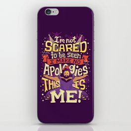 This Is Me iPhone Skin