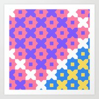 Pop Geometric  Art Print