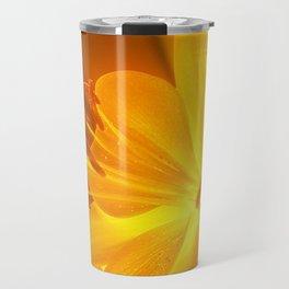 Gelbe Lilie Travel Mug