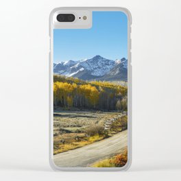 Morning on the San Juans Clear iPhone Case