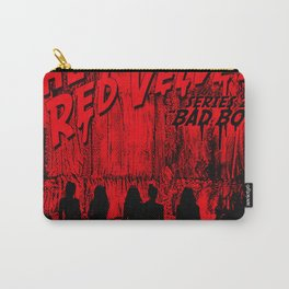 """The Perfect Red Velvet """"Bad Boy"""" Carry-All Pouch"""