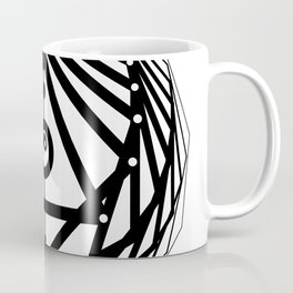 Radiant Abundance (white-black) Coffee Mug