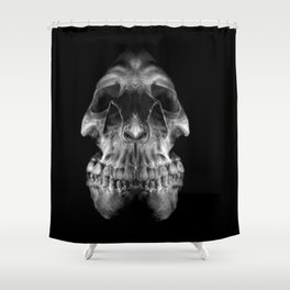 Skully Shower Curtain