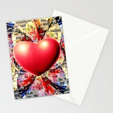 At the Very Heart of It. Stationery Cards