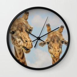 Giraffe Joe Wall Clock