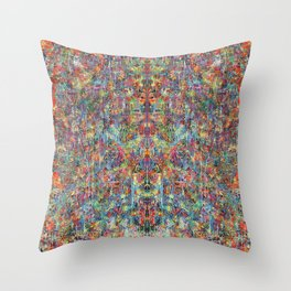 Acid Rain Throw Pillow