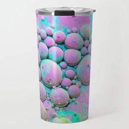 Cotton Candy Bubble Galaxy Travel Mug