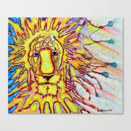 Strength Lion Canvas Print
