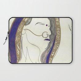Blue Lady Laptop Sleeve