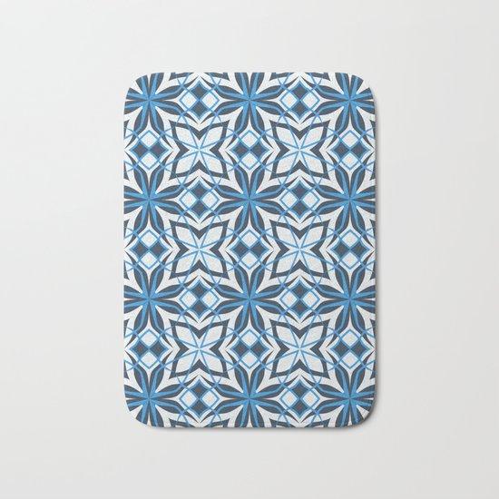 Decorative floral pattern Bath Mat