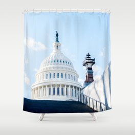 Our Nation's Capital Shower Curtain