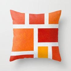 60's Mod Throw Pillow