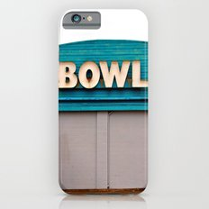 Classic bowling architecture iPhone 6s Slim Case