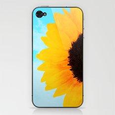 Half A SunFlower  iPhone & iPod Skin