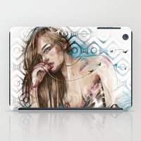 olivia joy iPad Cases featuring Olivia by Anna Sun