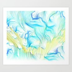 Seaweed Memory I Art Print