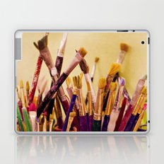 Paintbrushes Laptop & iPad Skin