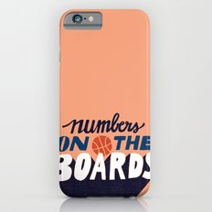 Numbers on the Boards Slim Case iPhone 6s