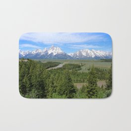 Snake River And The Grand Tetons Bath Mat