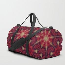 Kaleidoscope .The red morning. Duffle Bag