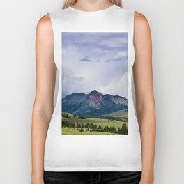 Electric Peak Yellowstone Biker Tank