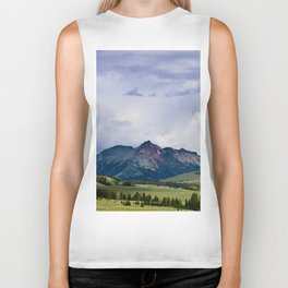 Electric Peak Yellowstone Biker Tank
