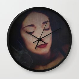 """""""whispering eyes can poison my honest truth"""" Wall Clock"""