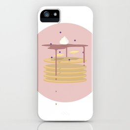 flappy jacks (exploded food series) iPhone Case