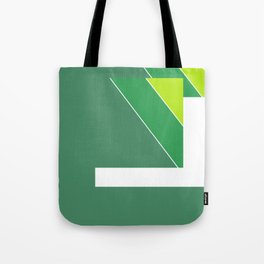 Greens Pattern Tote Bag