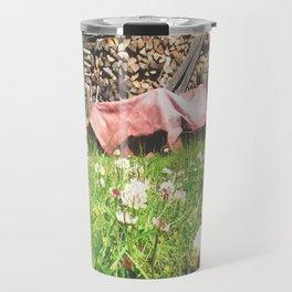 Country Wood Shed Travel Mug