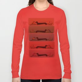 Teckel Long Sleeve T-shirt