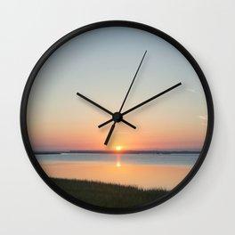 Georgia Sunrise Wall Clock