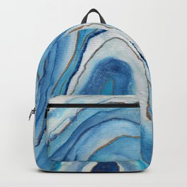 AGATE Inspired Watercolor Abstract 02 Backpack