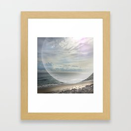 days of miracle & wonder Framed Art Print