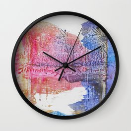 Sunrise Lake Wall Clock