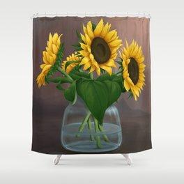Happy Birthday, Vincent! Shower Curtain