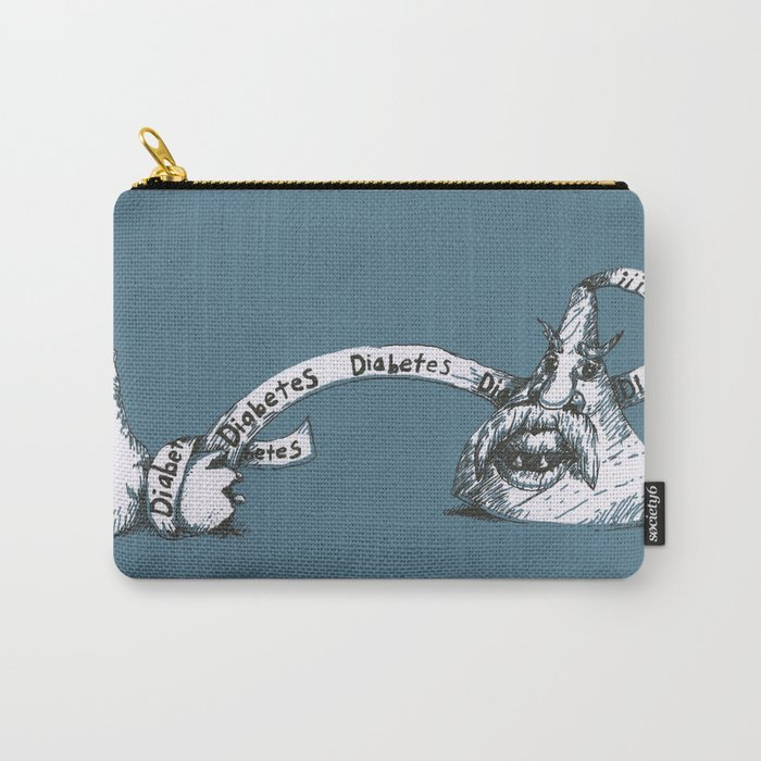 Diabetes Monster Carry-All Pouch