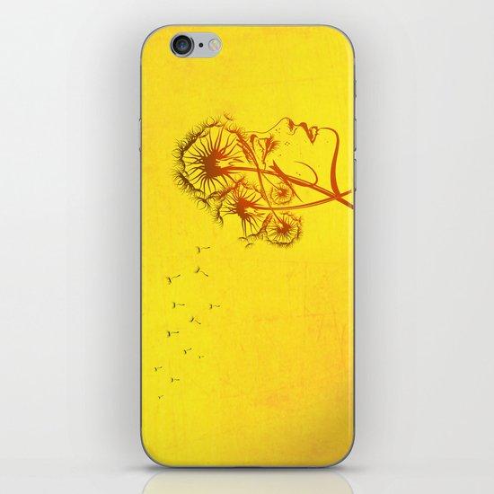 Fleeting Thoughts iPhone & iPod Skin