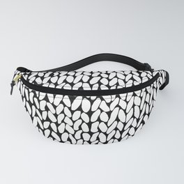 Hand Knitted Loops Fanny Pack