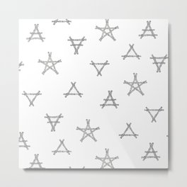 Symbols of the Witch Metal Print