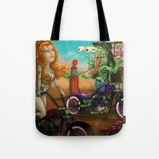 Ride baby ride Tote Bag