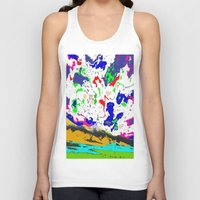 zodiac Tank Tops featuring Zodiac by lookiz