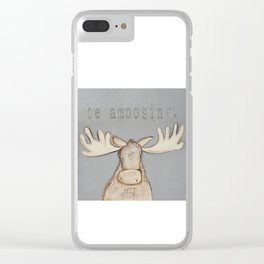 be amoosing. Clear iPhone Case