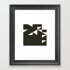 #544 Laboratory – Geometry Daily Framed Art Print