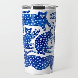 Cat club Travel Mug