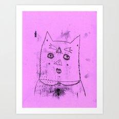 gato Art Print