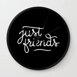 Just friends #2 Wall Clock